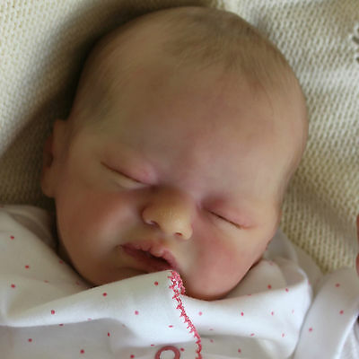 Reborn Baby Girl Doll Lil Treasure/Laura Lee Eagles a Polly's Perfect Baby
