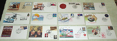 second lot. unusual cancels or envelopes - first day covers