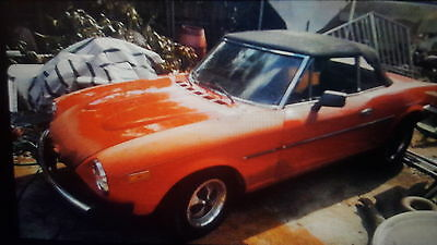 1979 Fiat Other Convertible 1979 fiat