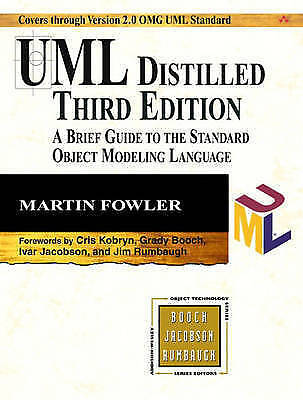 UML Distilled: A Brief Guide to the Standard Object Modeling Language by Martin