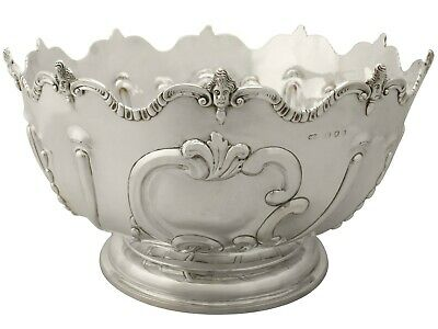 Antique Victorian Sterling Silver Presentation Bowl