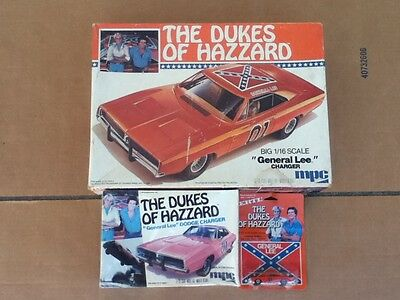 Dukes Of Hazzard General Lee Model Kits 1/16 - 1/25 - 1/64 Original 1979 & 1981