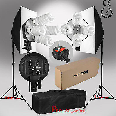 2016 BPS 1520W Photography Studio Softbox Soft Box Continuous Lighting Stand Kit