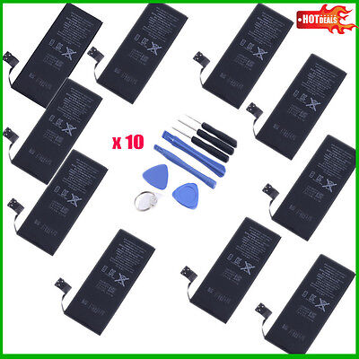 Lot of 10 New 1440mAh 3.8V Replacement Internal Battery For Phone 5 5G HL