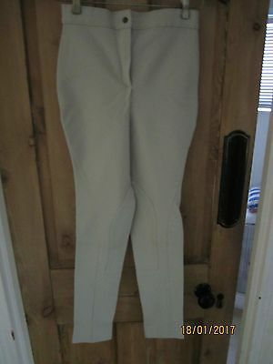 Ladies Beige Caldene Jodhpurs (Size Medium)