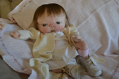 Jan Shackelford OOAK Cuddley Convention Baby All Original and so babyish!