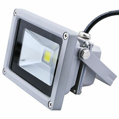 10W Cool White High Power LED Floodlight Security Garden Yard Outdoor Lamp IP65