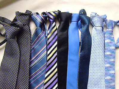 Boys used M&S ties in a choice of patterns