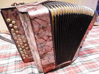 RARE: -the smallest accordion by Hohner - LILIPUT -tuning -C/F