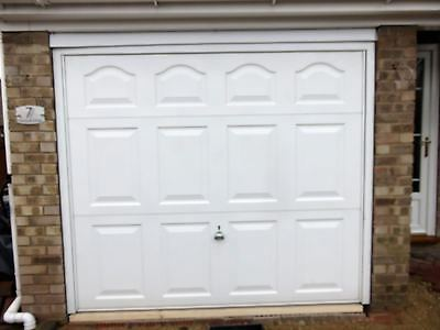 Garador Cathedral 7'6 x 6'6 retractable with frame up and over garage door