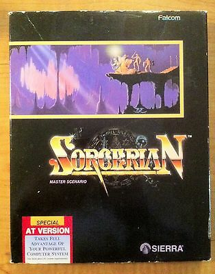 """Sorcerian by Sierra - AT Version 3.5"""" and 5.25"""" IBM & MS DOS"""