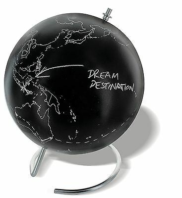 Chalkboard Globe With Pen Novelty Travel Accessory With Chalk World Map