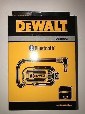 Dewalt Bluetooth Adaptor Receiver For Radio - DCR002-XJ