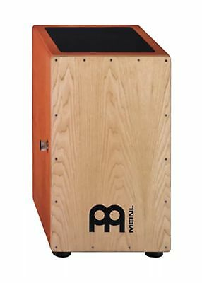 Meinl Snare Cajon With Gig Bag. American White Ash Percussion