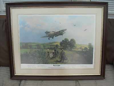 Michael Turner 'a Piece Of Cake' Framed And Signed Limited Addition Print