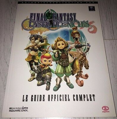 Guide Officiel Final Fantasy Crystel Chronicles Gamecube Piggyback