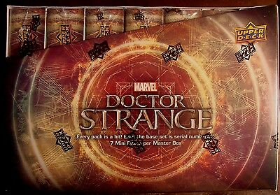 2016 Upper Deck Marvel Doctor Strange Sealed Box