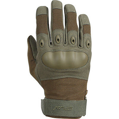 """Russian Tactical Gloves Firm Knuckle NEW """"Rage"""" by SPLAV Olive M, L, XL, XXL"""
