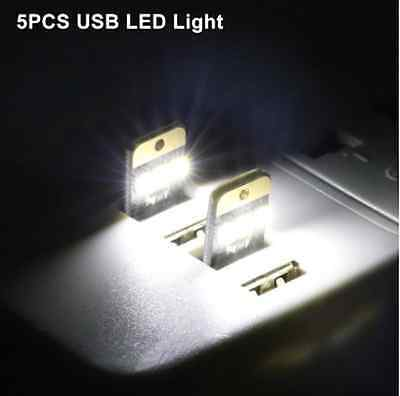 5PCS Mini USB LED Light