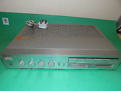 SONY TA-AX3 AMP Legato Linear Amplifier Stereo Integrated Hi-Fi SILVER Vintage