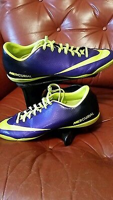 NIKE MERCURIAL FOOTBALL BOOTS Size UK 9