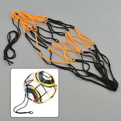 Nylon Net Bag Ball Carry Mesh Volleyball Basketball Football Soccer Outdoor