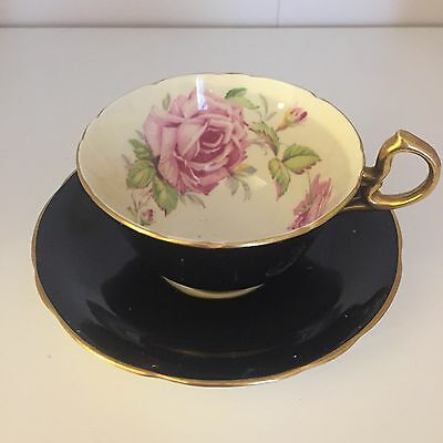 Aynsley Roses Cup And Saucer