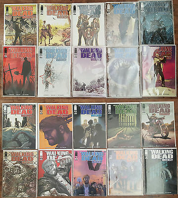 The Walking Dead #1-162 Complete Collection, First Prints