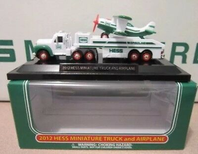 2012 Hess Miniature Truck & Airplane NIB