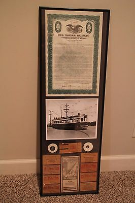 Des Moines Railway Company Items (Des Moines, Iowa)    -- Extremely Rare--