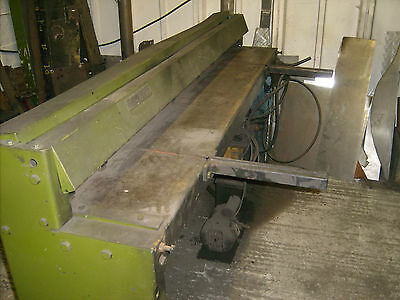 Guillotine 6ft/1.5 cut thickness