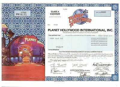 Planet Hollywood International Inc