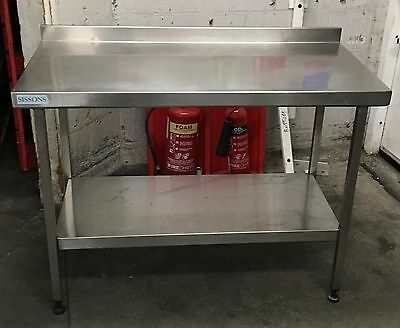 Sissons Stainless Steel Catering Work Bench Table
