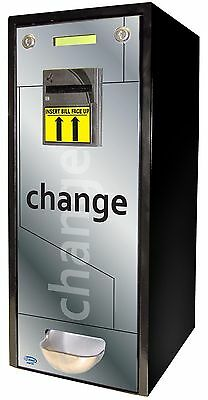 SEAGA Change Coin Vending Machine Fits 1,000 Coins ($250) or US Quarter Sized...