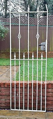 WROUGHT IRON SIDE GATE 1980mm X 695mm