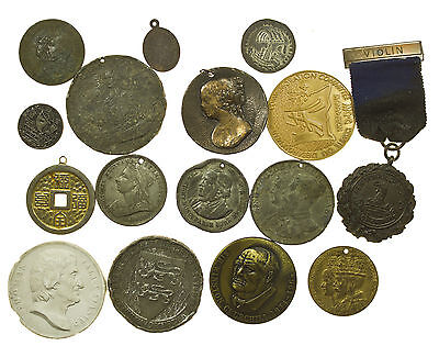Medals, Collection Of 16 World Issues, 19Th-20 Century