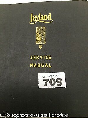 Leyland Leopard (early) Service manual bus part ref 709