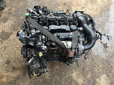 Citron C5 9HZ 1.6 HDI Engine With Turbo, Injectors, And Auxiliaries. hdi engine.