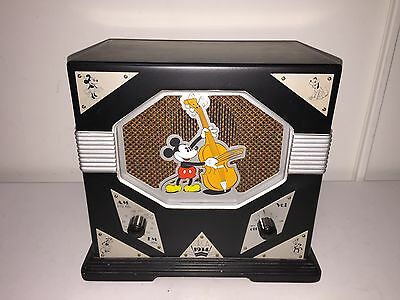 Mickey Mouse AM/FM Radio 1997 Replica of a 1934 - Art Deco - Special Edition