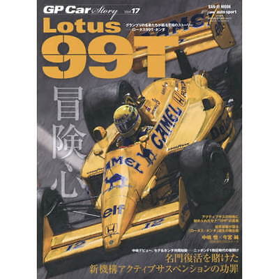 GP Car Story Vol.17 Lotus 99T book F1 modeling detail Ayrton Senna Nakajima