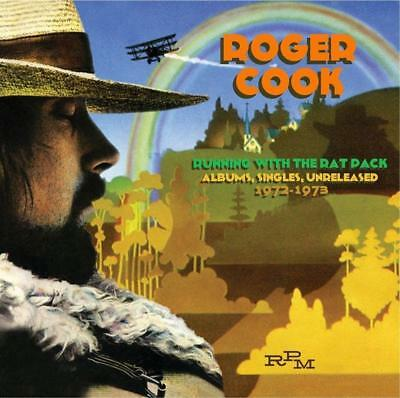 ROGER COOK – RUNNING WITH THE RAT PACK : SINGLES & UNRELEASED '72–'73 2CDs (NEW)