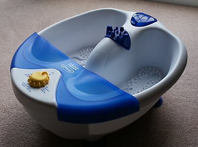 Scholl Infrablue Foot spa - for reviving tired feet.