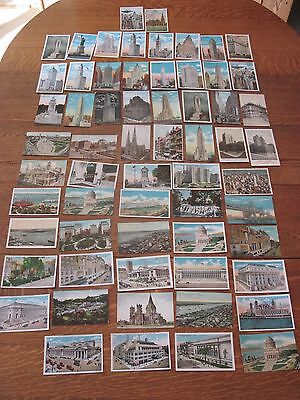 Large Lot 63 Older Vintage New York City NYC Postcards Early 1900's 1913 to 1941
