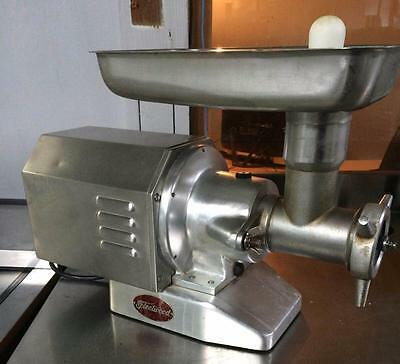Commercial Meat Grinder By Fleetwood Model M12S - Electric Meat Grinder