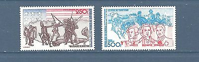 "Senegal  #c141-C142    Mnh   ""boston Massacre"""