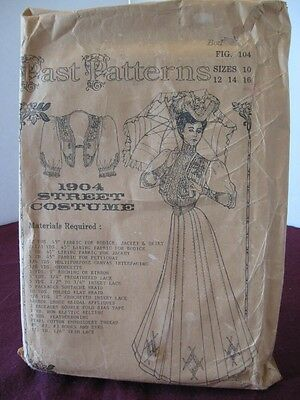 Vintage 1904 Street Costume Sizes 10 ~ 16 New  Uncut Discontinued Pattern