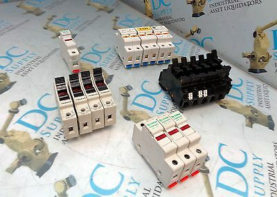 Ferraz Littlefuse Allen Bradley Phoneix Contact Fuse Holder Lot Of 17
