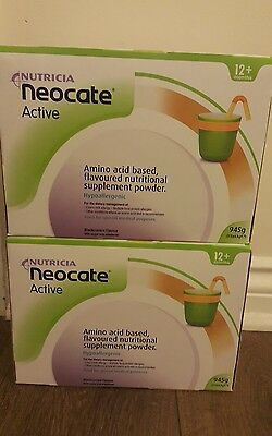 Neocate Active Powder 2 Pack black current flavour
