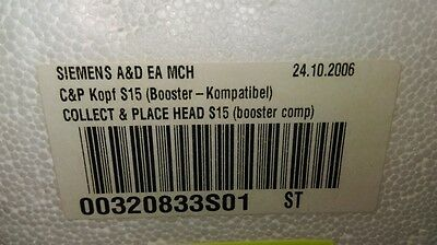 00320833S01 - Collect & Place Head (S15) Booster Comp C&P Kopf S15