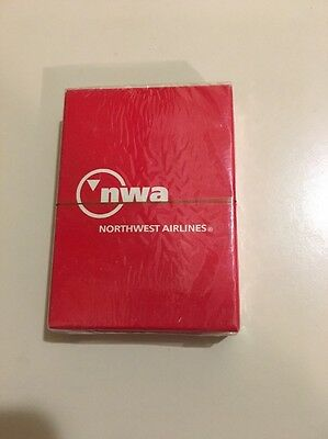 New NORTHWEST North West AIRLINES NWA PLAYING CARDS